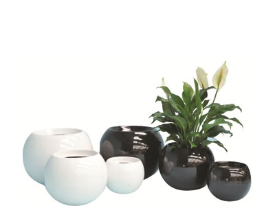 plant pot hire luna pot range