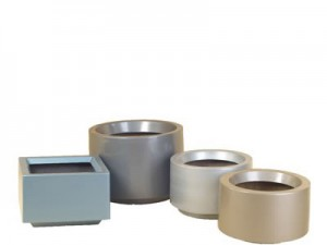 plant pot hire steel elegance range