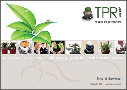 TPR GROUP menu of services