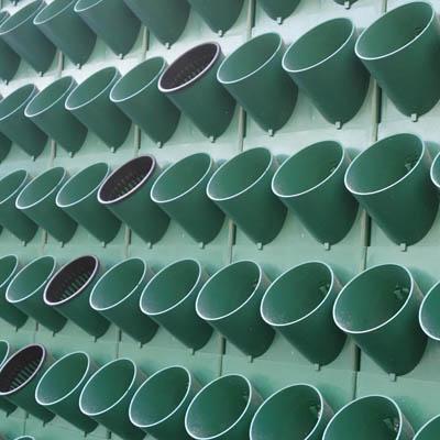 External Green Wall System Vertical Garden Pot Plants