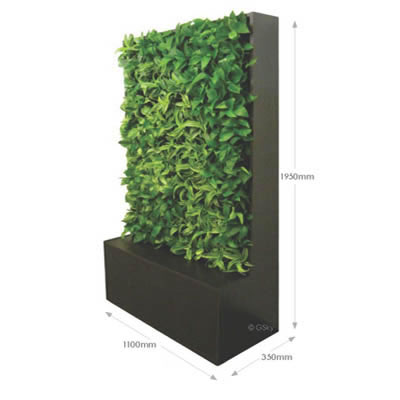 Portable Vertical Garden Smart Wall Tropical Plant Rentals