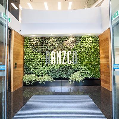green-wall-gsky-versa-ranzco-foyer