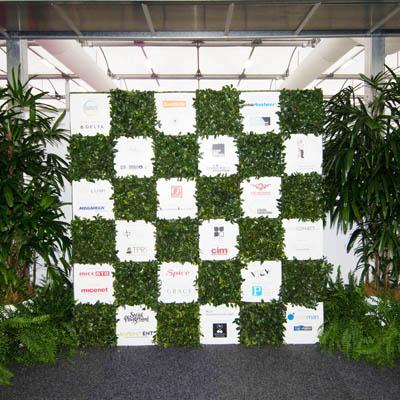Tropical Plant rentals - Office & Indoor Plant Hire - Media Wall Inspire