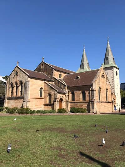 parramatta church
