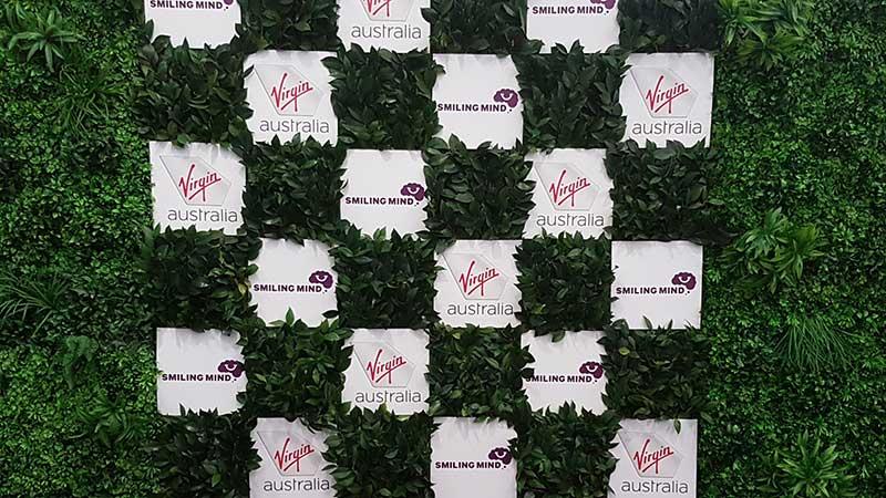 Virgin Green Wall