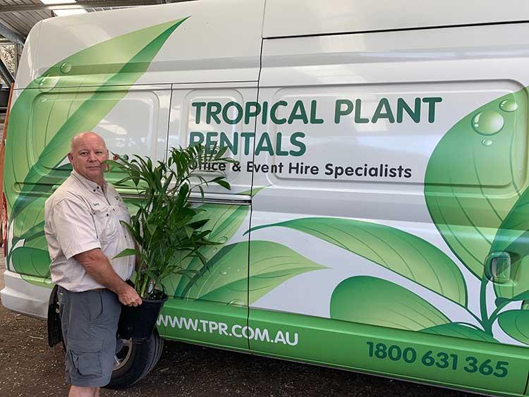 tony tropical plant rentals franchisee
