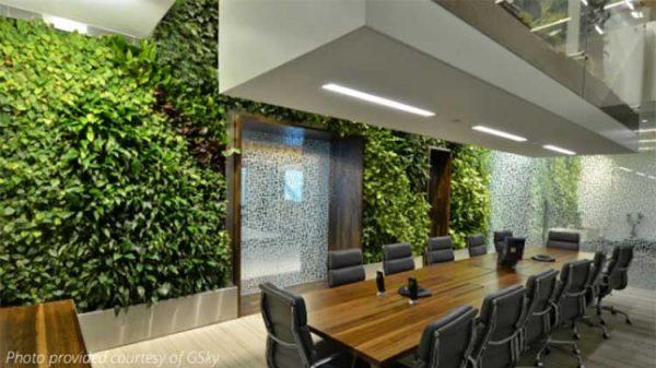 gsky green wall hire