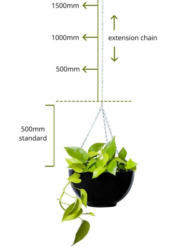 hanging bowl chain extension image