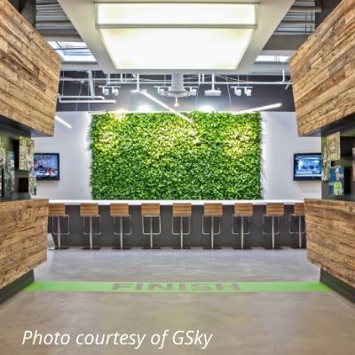 gsky green wall 2