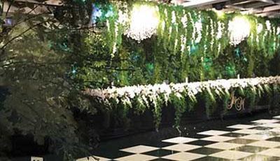 Wedding Event Plant Hire